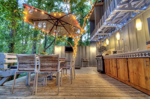 , 79 Outdoor Lighting Ideas for Your Patio-Night Time is the Right Time